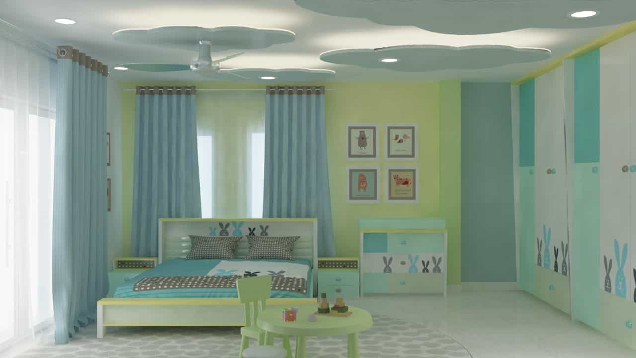 Kids bedroom interior designer