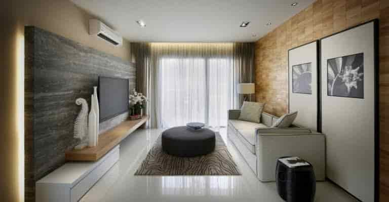 Living room interior designer